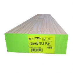 Treated Pine H3 GL8 Timber 190 X 65