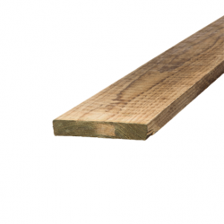 Treated Pine Sawn H4 Garden Edge 100 X 25  Timber 5.4m