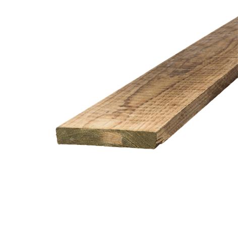 Treated Pine Sawn H4 Garden Edge 150 X 25  Timber 5.4m