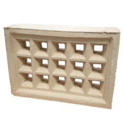 Brick Vent Clay V13 Square Hole Cream 230 x 160