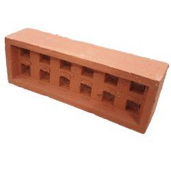 Brick Vent Clay V16 Square Hole Red Terracotta 230 x 80