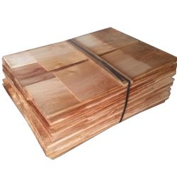 Western Red Cedar Shingles 2.33M SQ Coverage Per Bundle