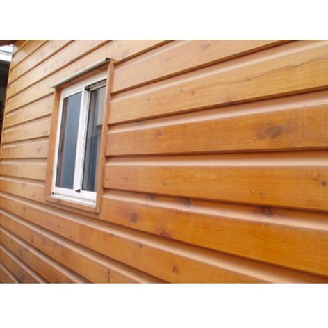 Cypress Pine Double Log Cabin 140 X 19 Weatherboard Cladding