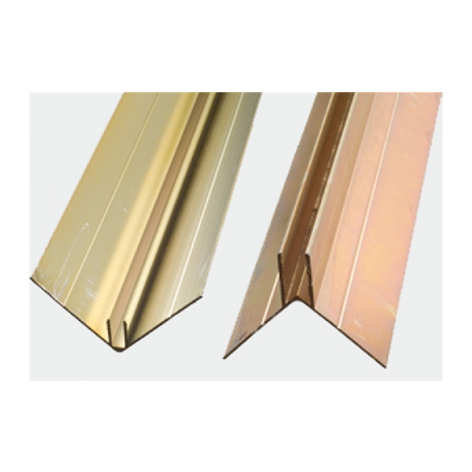 James Hardie 305513 Aluminium Snap On Corner 3.0m (2 PIECES PER SET)