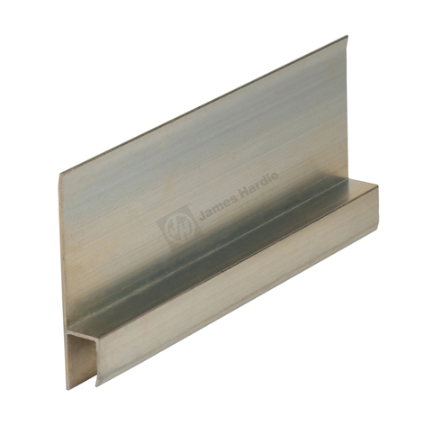 James Hardie 305613 9mm Aluminium Horizontal H Flashing 3 0m