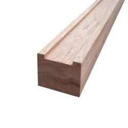 Maple Meranti Bottom Rail 67 x 42