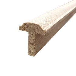 Maple Meranti Door Mushroom Stop Solid 35mm Rebate 2.1m