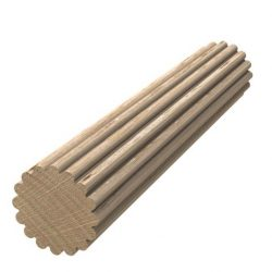 Porta Mouldings Tasmanian Oak 9mm Multi Groove Dowel 2.4m