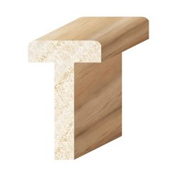 Porta Mouldings Tasmanian Oak 50 x 30 Rounded T Astragal Mushroom Stop 2.4m