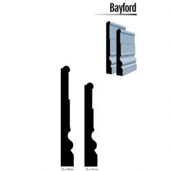 Primed MDF Bayford 140 X 18 White