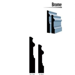 Primed MDF Brome 117 X 18 White