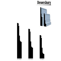 Pine Dewesbury Profile F/J Finger Jointed Timber 5.4m