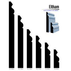 Pine Eltham Profile F/J Finger Jointed Timber 5.4m