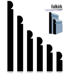 Primed MDF Falkirk 240 X 18 White