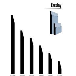Primed MDF Farsley 140 X 12 White