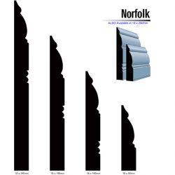Pine Norfolk Profile F/J Finger Jointed Timber 5.4m