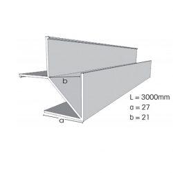 Weathertex Large External Corner Large Flange 3.0m
