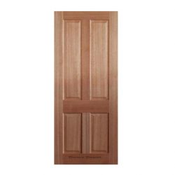 4 Panel Meranti Door 2040 x 770 x 35 SP - 4COL