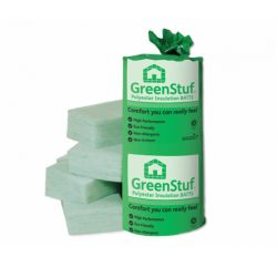 Green Stuff Insulation Polyester Batts R1.5 x 580mm 12.4m²