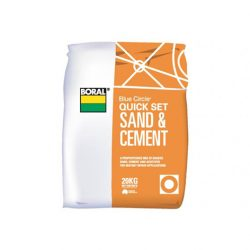 Quick Set Sand and Cement Blue Circle 20kg Boral