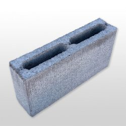 Besser Block Full 390 x 190 x 90 Masonry Concrete Hollow Grey Block