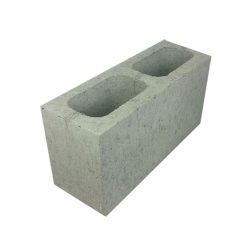 Besser Block Full 390 x 190 x 140 Masonry Concrete Grey Block