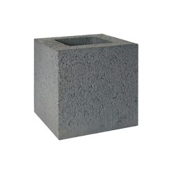 Besser Block Half 190 x 190 x 190 Masonry Concrete Grey Block