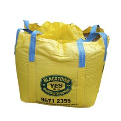 White Brickies Sand Bulk Bag 1 Ton