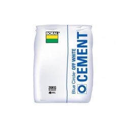 Cement Off White Blue Circle 20kg Boral
