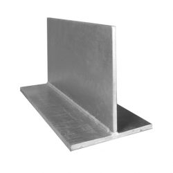 T Bar Gal Lintel 250mm x 10mm / 200mm x 6mm Galvanized 6000mm