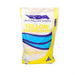 Yellow Brickies Sand 20kg Australian Sands