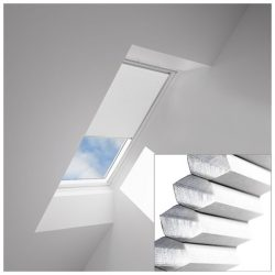 VELUX Honeycomb Blinds White For Opening Roof Windows