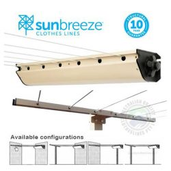 Austral Sunbreeze Retractable 6 Clothesline Paperbark