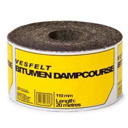 Vesfelt Bitumen Dampcourse 110mm x 20m Vespol