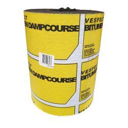 Vesfelt Bitumen Dampcourse 300mm x 20m Vespol