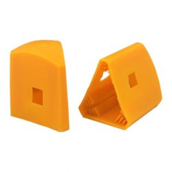 Star Post Caps Yellow 60mm Whites