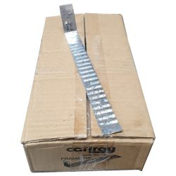 Frame Ties 240mm Galvanised Box of 150 Carlray