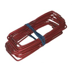 Wall Ties Wire Red Gal 175mm x 3.0mm x Qty 50
