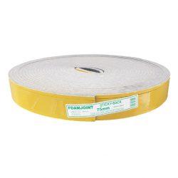 Foamjoint Self Adhesive 75mm x 10mm x 25m Sticky-Back Ableflex VESPOL