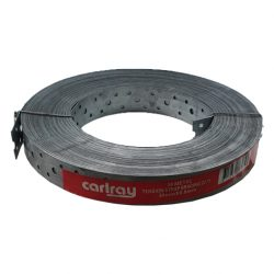Hoop Iron 30mm x 0.8mm x 30m Punched Strapping Carlray
