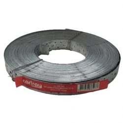 Hoop Iron 30mm x 0.8mm x 50m Punched Strapping Carlray