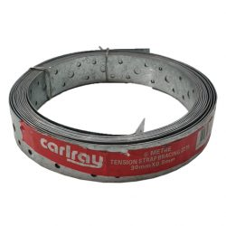 Hoop Iron 30mm x 0.8mm x 6m Punched Strapping Carlray