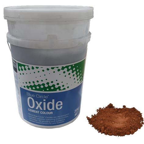 oxide medium brown 660 20kg