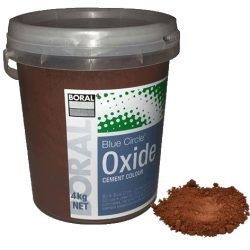 Oxide Medium Brown 660 4kg Boral Blue Circle