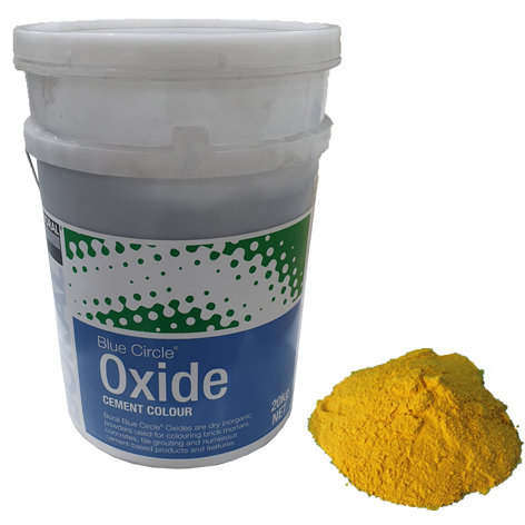 Oxide Yellow 920 20kg Boral Blue Circle
