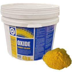 Oxide Yellow 920 4kg Boral Blue Circle