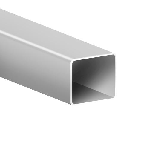 aluminium post
