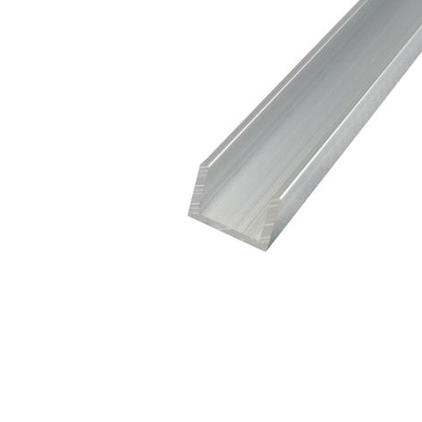 Aluminium Channel 12mm x 12mm x 1.6mm