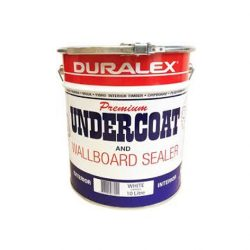 Undercoat Paint Wallboard Sealer Duralex White 10 Litre Duralex