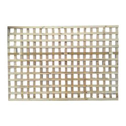 Lattice 2400 x 600 Square Fine Sawn Timber Premier Lattice